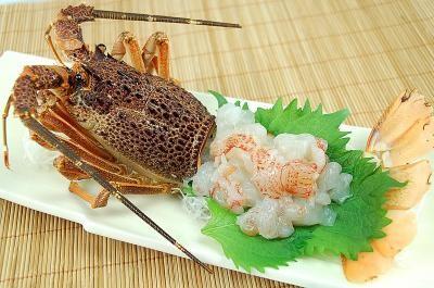 Phuket lobster sashimi のイメージ