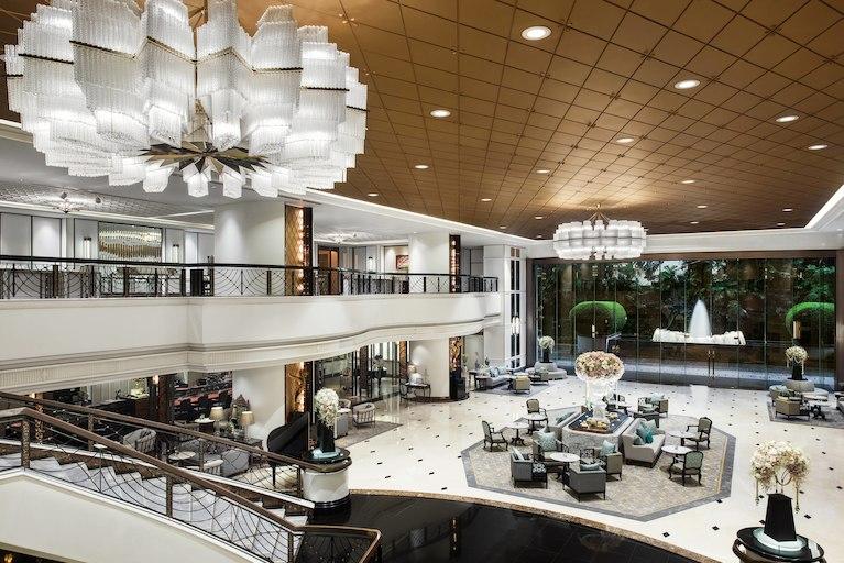アテネホテル・ラグジュアリーコレクションホテル・バンコクのロビー