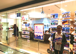 HISのバンコク支店 アソーク駅直結