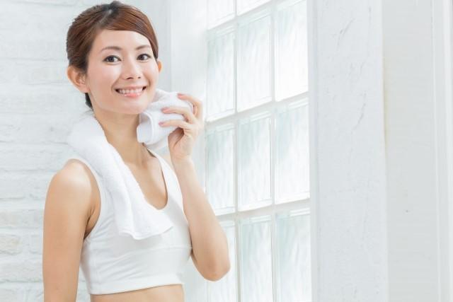 発汗作用を体験した女性