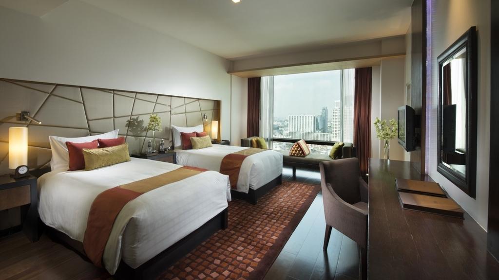 ウィーホテルバンコクツインベッドルーム