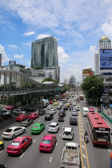 バンコクのベストシーズンの風景