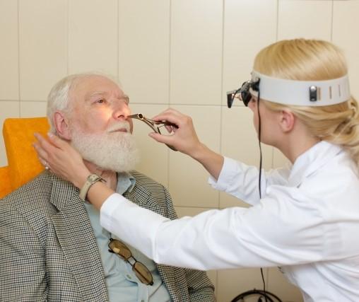 耳鼻咽喉科の病院内
