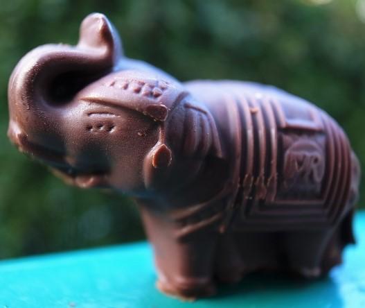 タイ、バンコク土産のぞうさんチョコレート