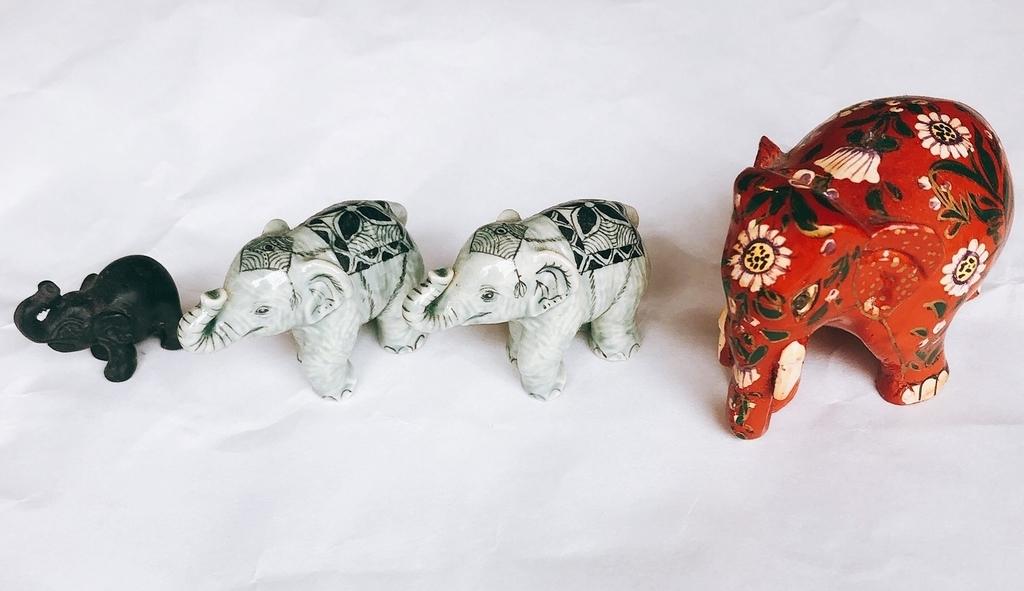 バンコクのお土産で喜ばれた象さん