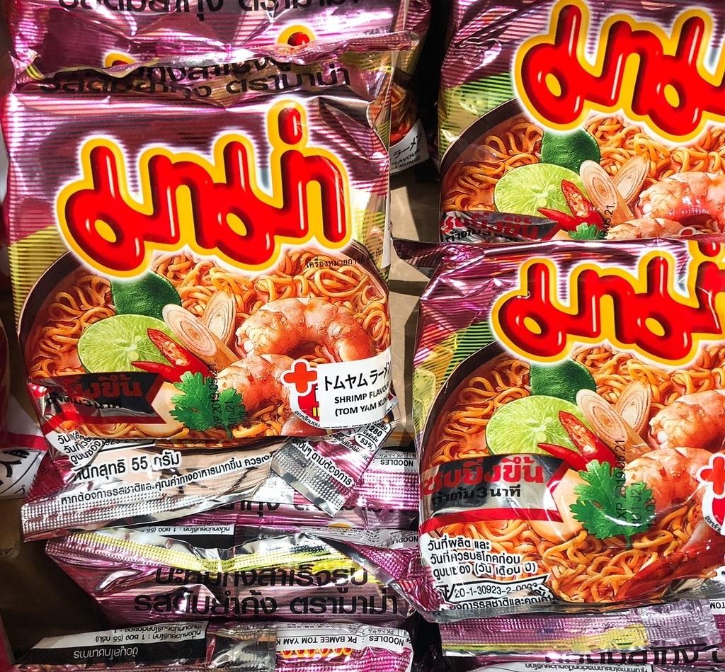 タイの袋ラーメン トムヤムクン味
