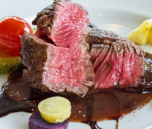 欧米食=洋食の肉料理 ステーキ