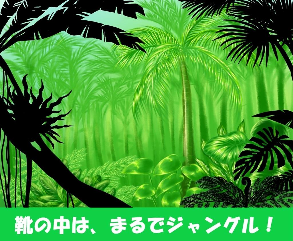 高温多湿の象徴、ジャングル