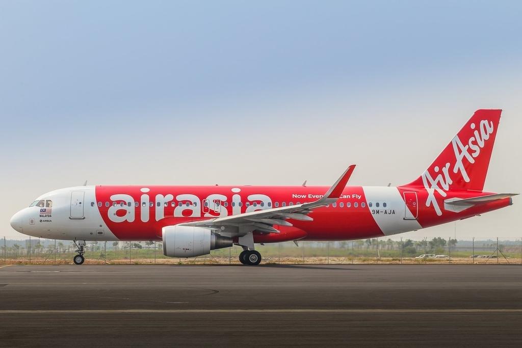エアアジアの飛行機エアバスA320