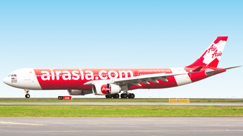 タイ・エアアジアXの飛行機エアバスA330