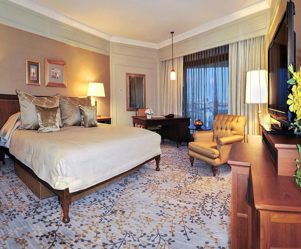 バンコクの穴場ホテルの部屋