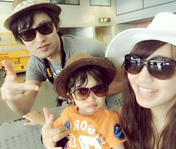 子連れ旅行でバンコクに来た家族