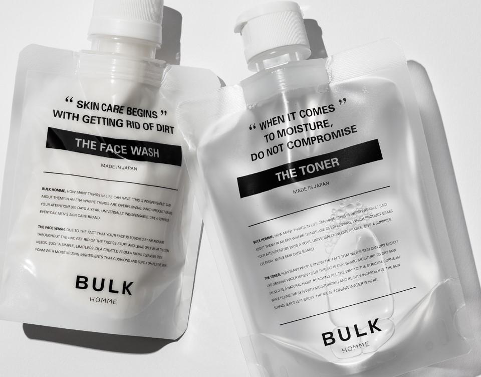 バルクオムの洗顔料と化粧水
