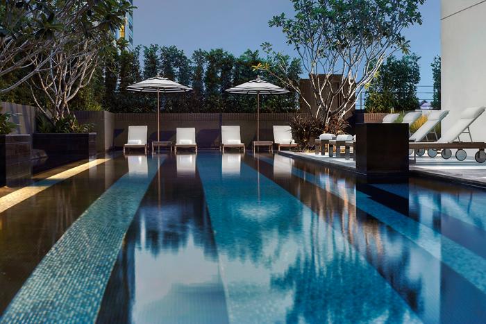 モーベンピックホテル スクインビット15バンコクのプール