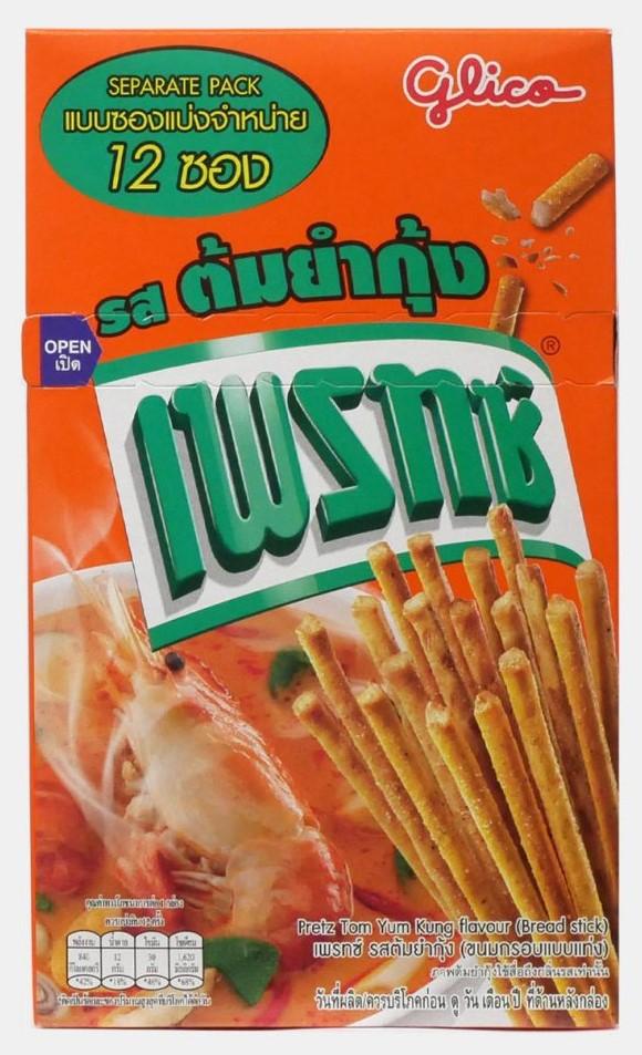 タイのバラマキ土産代表、プリッツトムヤムクン味