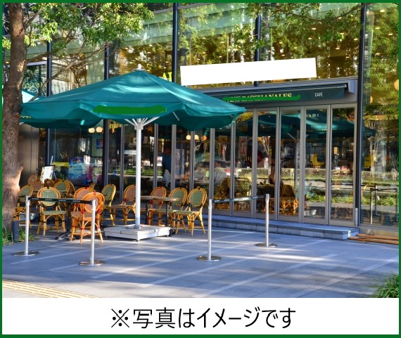 都内にオープンしたカフェ