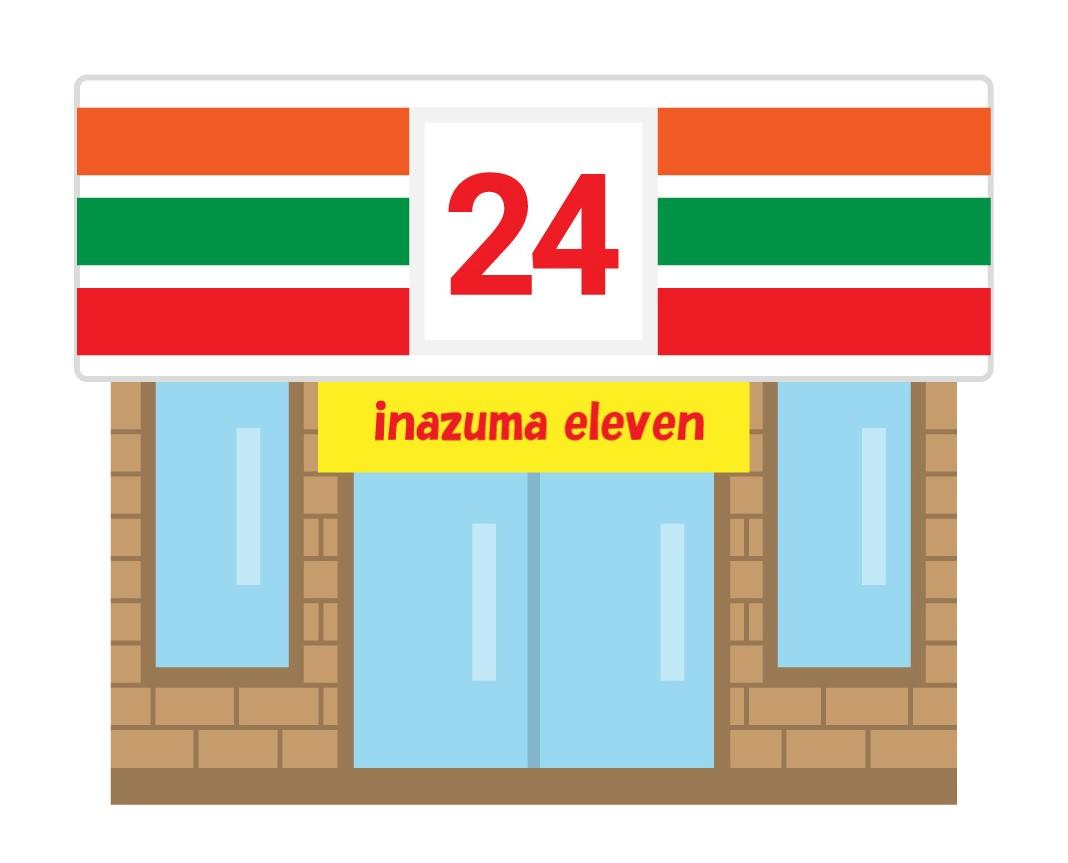 24時間営業のコンビニ店