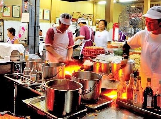 バンコクの料理店