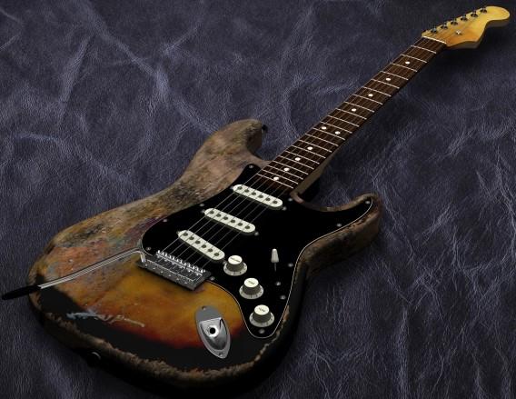 目黒区で買取に出す壊れたギター