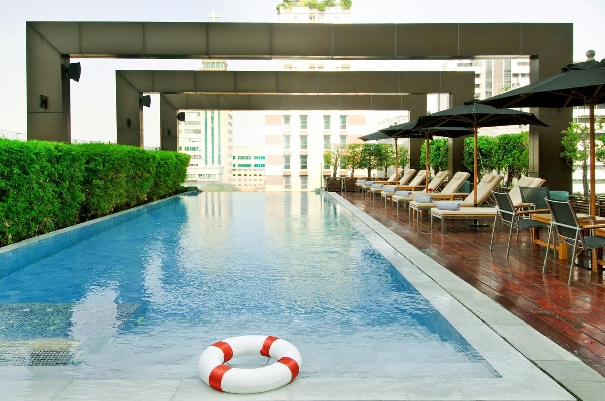 (VIE Hotel Bangkok)ウィーホテルバンコクのプール