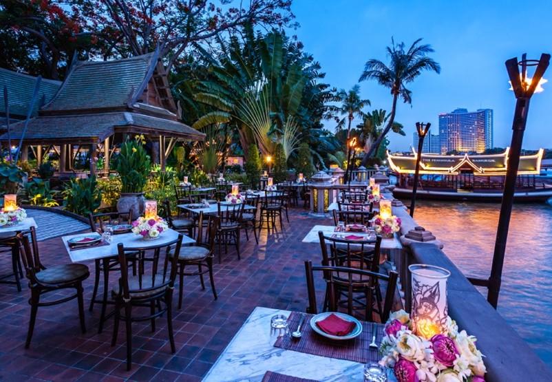ペニンシュラバンコク ティプタラ タイ料理レストラン