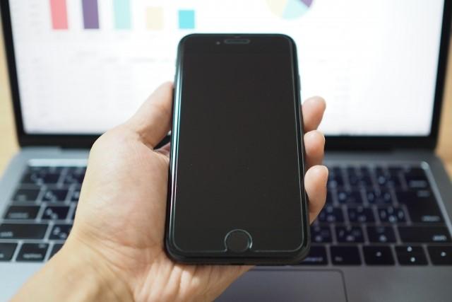 申し込み予約用のスマホ(電話)とインターネット予約用のPC