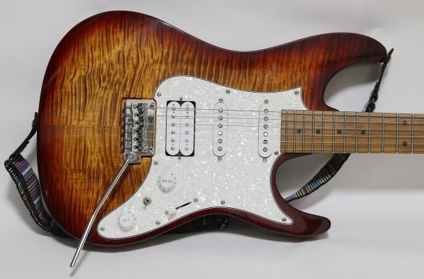 豊中市で捨てると粗大ごみになる茶色のエレキギター