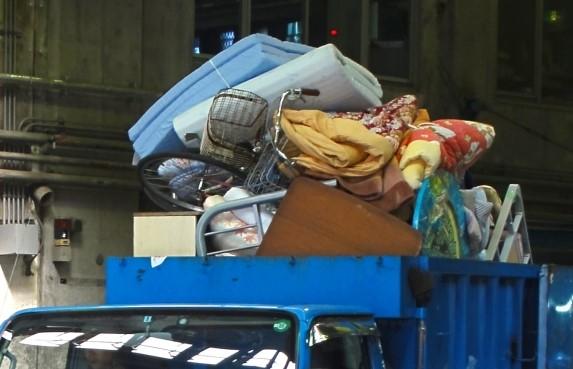 豊中市の粗大ごみ収集車のイメージ