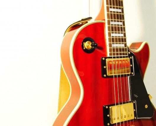 尼崎市で買取されたレスポールのギター