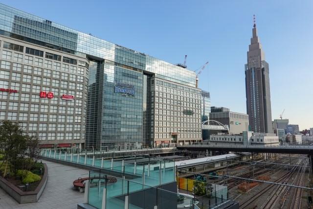 タウンワークで働きたい地域の新宿駅前
