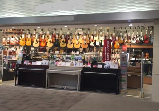 岡山市内の楽器店のイメージ