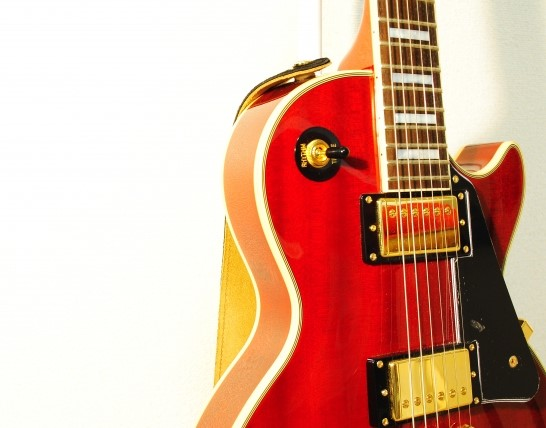 高く売れたレスポールのエレキギター