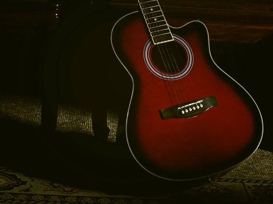 仙台市で捨てると粗大ごみになる赤いギター