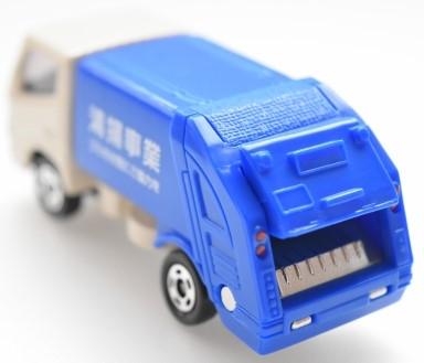 仙台市のごみ収集車のイメージ