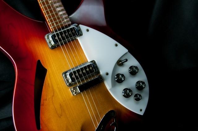 松山市でギター買取を依頼したセミアコギター