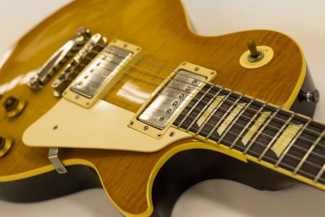 楽器の買取屋さんに高く売れるレスポールのギター