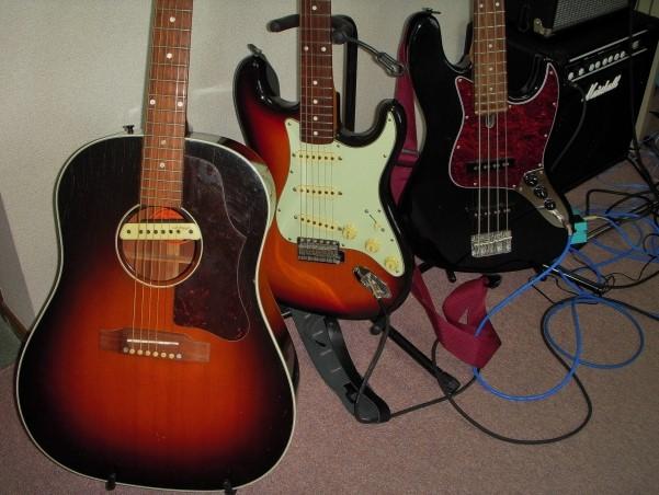 郡山市で捨てないでお得に処分したアコギとエレキギター