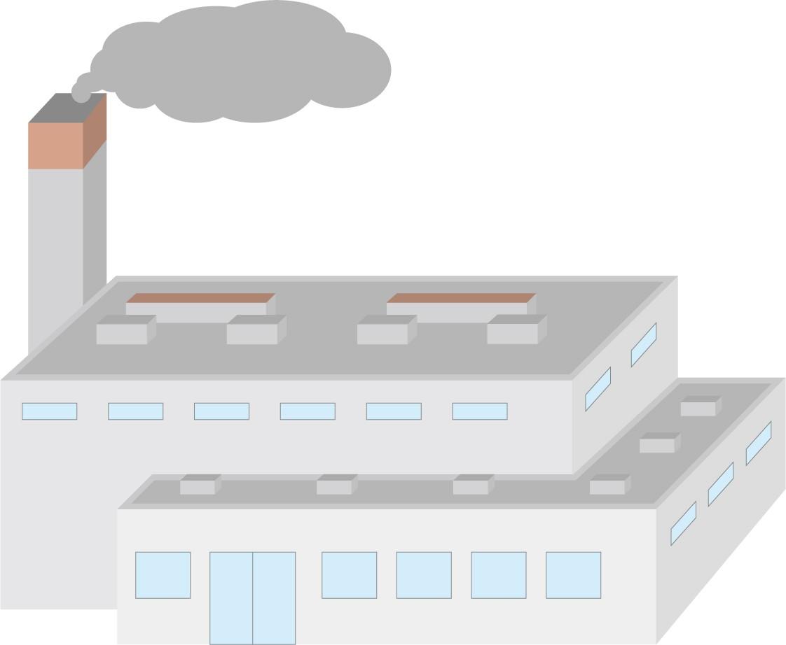 山形市のリサイクルセンターのイメージイラスト
