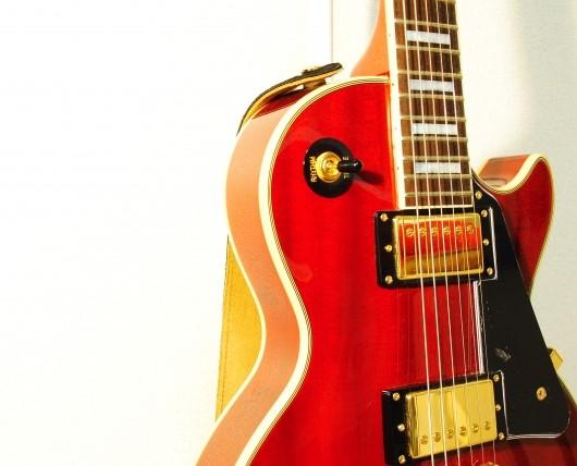 ギター買取されたレスポールギター