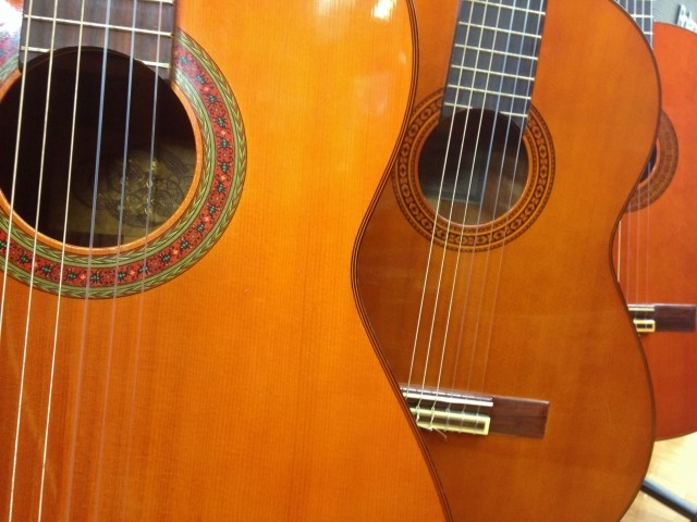 楽器買取専門店に買取されたフォークギター