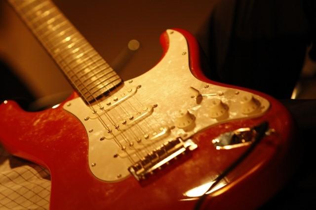 お宝のエレキギター