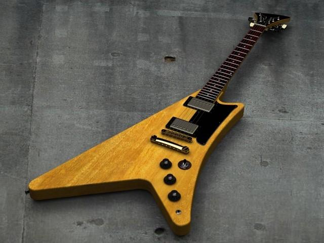 長岡市で捨てると粗大ごみになる木製エレキギター