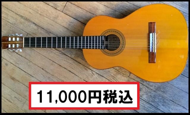オークションサイトで売られているアコースティックギター