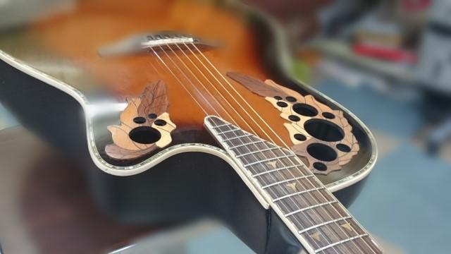 小平市で売られたギター
