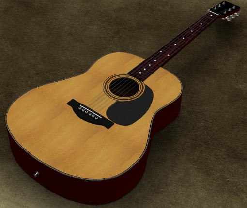 入間市で無料で処分したアコースティックギター