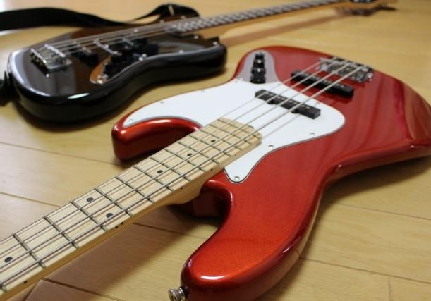 狭山市で捨てる予定のジャズベースギター