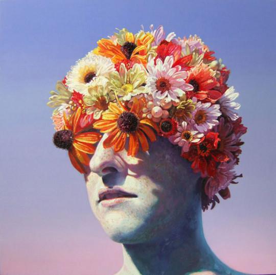 Robin Williams - Flower Cap