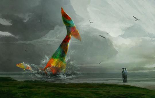 Whales by Sergey Ryzhov