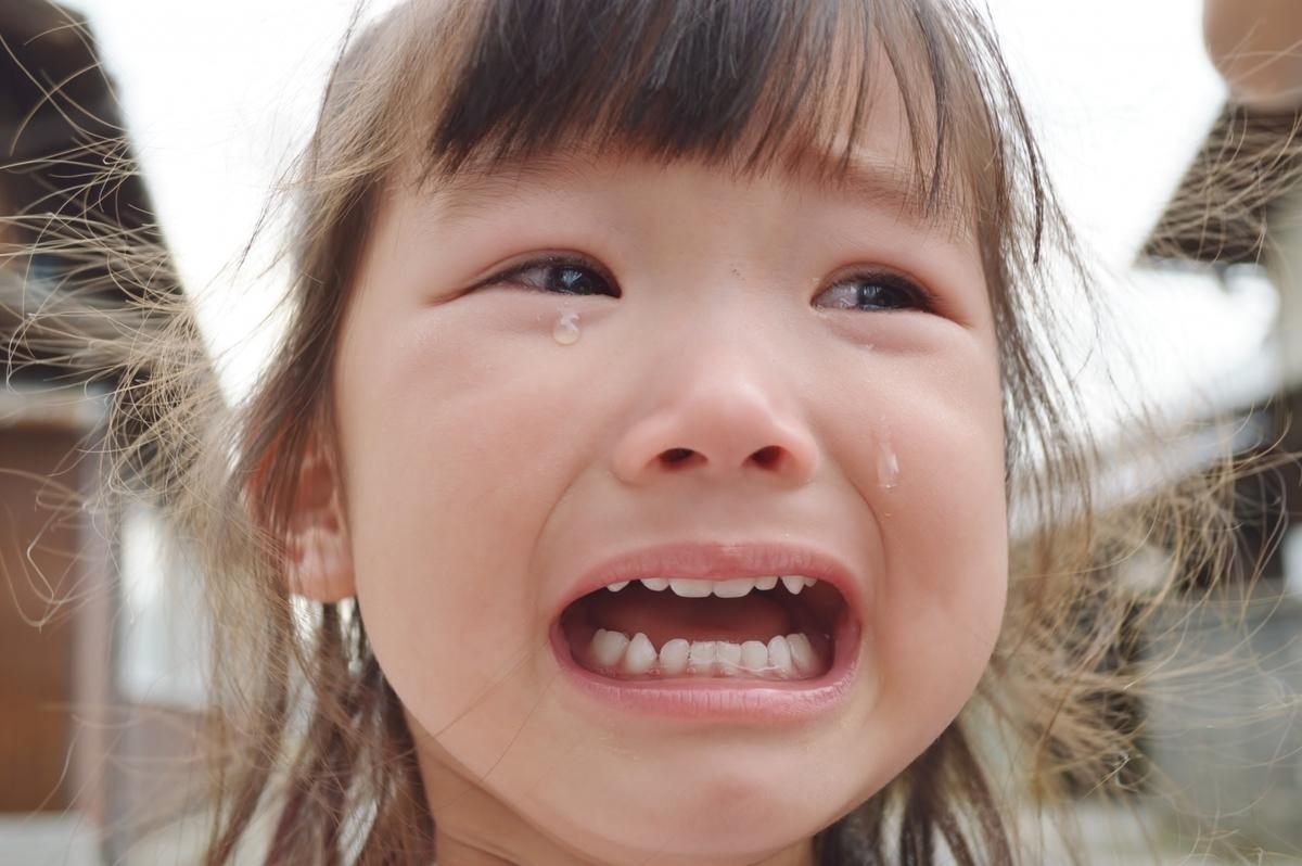 子供が泣いているとき 対処法