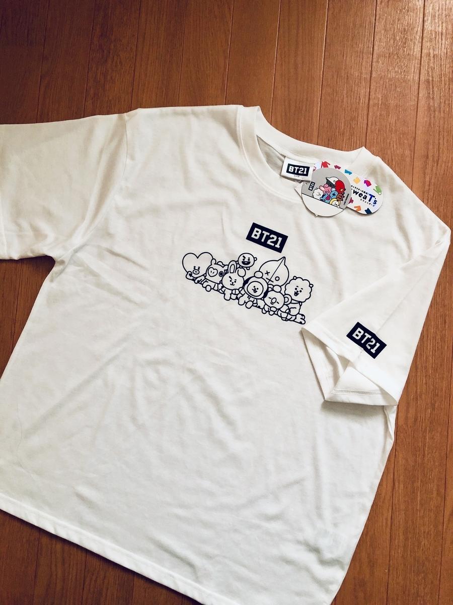 バンタン コラボTシャツ /  しまむら